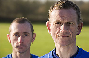 Dave Heeley (right) and Malcolm Carr