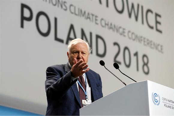 Sir David Attenborough: delivered raw testimonials