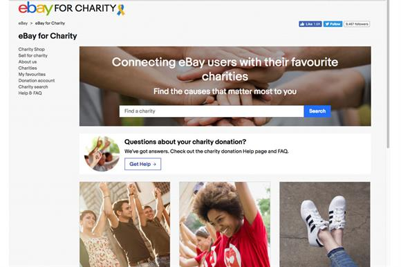 c275646a78ae eBay for Charity raised £22.5m for charities in 2018