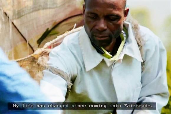 The Fairtrade Foundation's new video features Edson Maotchedwe, a farmer in Malawi