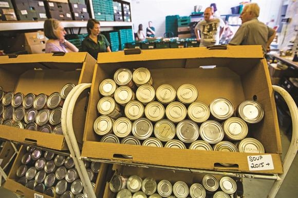 Food bank: down to IDS?