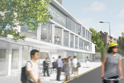 The Foundry: an artist's impression
