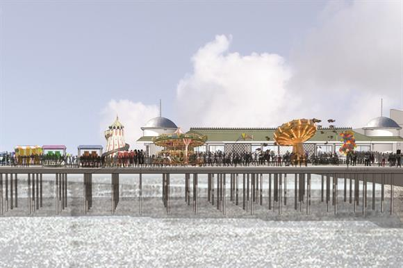 A vision of the future for Hastings Pier