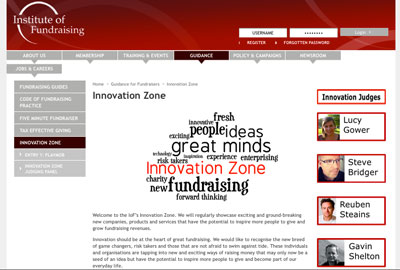 The IoF's Innovation Zone