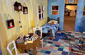 All stitched up: inside the knitted house