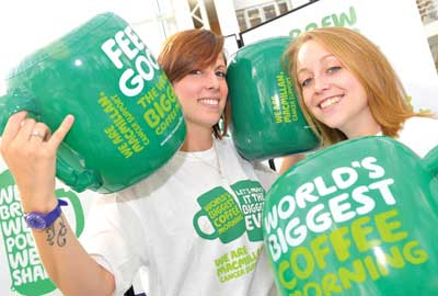 Macmillan Cancer Support: the World's Biggest Coffee Morning