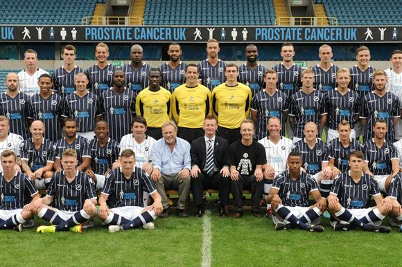 The Prostate Cancer UK and Millwall FC campaign to raise awareness of the signs of prostate cancer