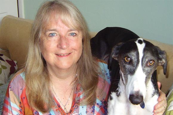 Pat Wilder with Dasher