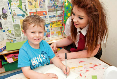 Teens and Toddlers: Student placement at Rosebuds Nursery, Ashton-under-Lyne