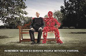 A Royal British Legion poster