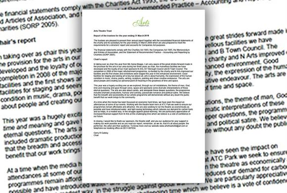Annual reports: Charity Commission concern