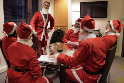 Concern Universal's campaign asks people to dress up as Santa
