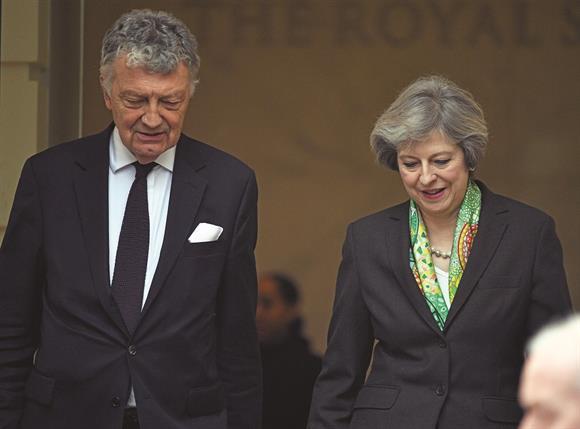 William Shawcross and Theresa May