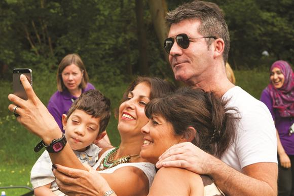 Simon Cowell is a patron of children's charity Together for Short Lives