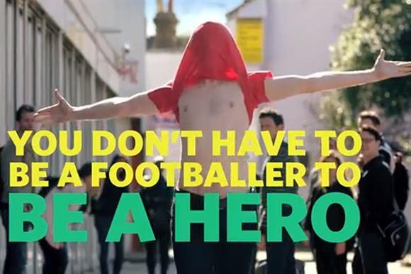 The St John Ambulance Celebrate Like A Hero video