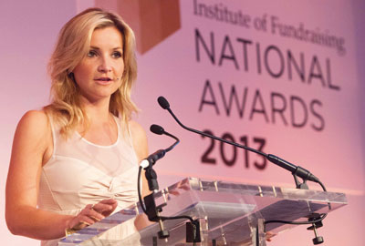 Helen Skelton hosts the awards