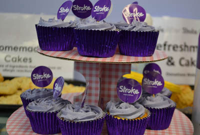 Legal & General's partnership with The Stroke Association includes cake sales at the firm's offices