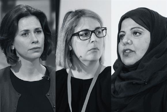 Three whistleblowers: (left to right) Helen Evans, Alexia Pepper de Caires, Shaista Aziz (Photographs: ITN/Getty Images, Alex Deverill)