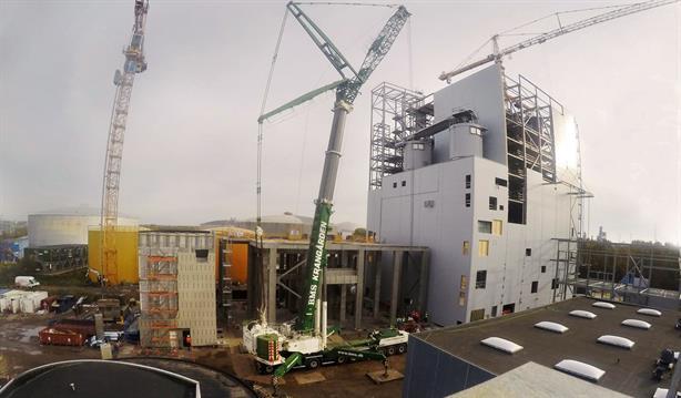 Milestone in biomass conversion of Asnæs Power Station