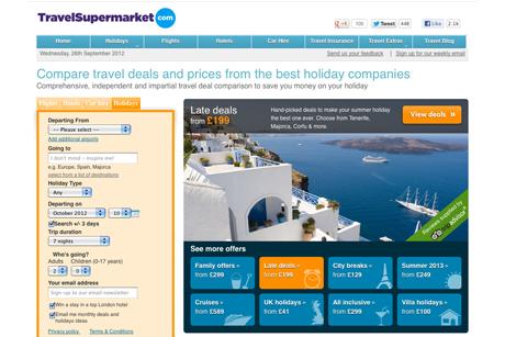 TravelSupermarket: online price comparison service