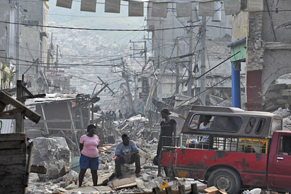 Haiti Earthquake: Save The Children campaign