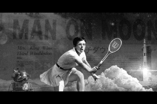 Billie Jean King's reign coincided with the moon landing