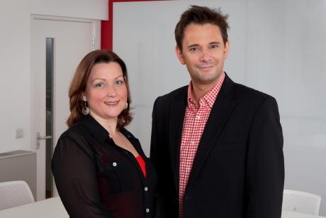Claire Eldridge and Neil Crump