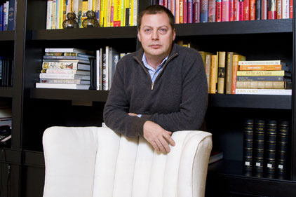 Brilliant networker: Matthew Freud tops the Power Book