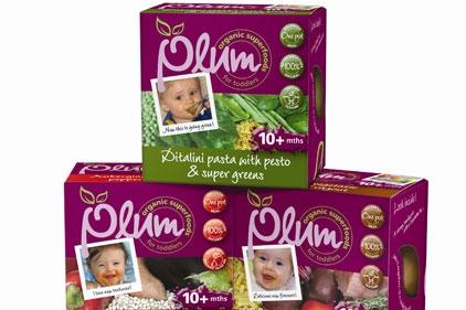 Bondy resigns account: Plum baby food
