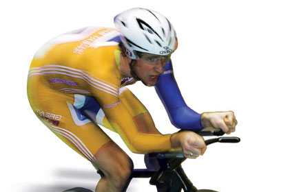 Olympic champion: Bradley Wiggins
