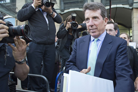 Fallout: Barclay's ex-CEO Bob Diamond has faced scandal (Credit: Rex Features)