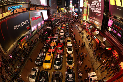 Rally call: Frank PR promotes the Gumball 3000 Rally