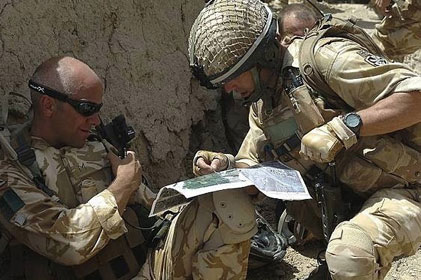 Conflict: Government wants to better communicate why troops are in Afghanistan