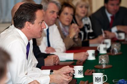 Coalition cabinet: Uncertain political environment