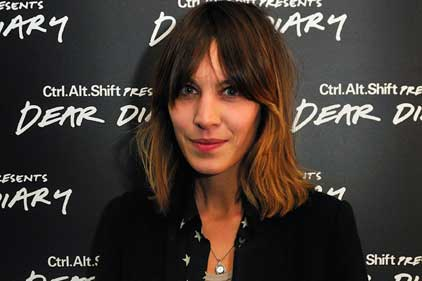 Alexa Chung: took part in Ctrl.Alt.Shift's Dear Diary