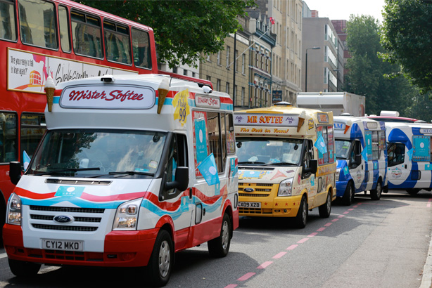 Uber: delivering on-demand ice cream to help Londoners keep cool