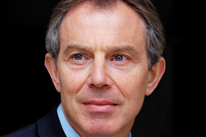 Tony Blair: Represented by taskforce member