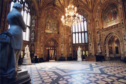 Power: the Central Lobby at Westminster
