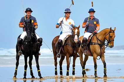 Barefoot Media: 'Polo on the beach'