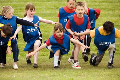 Schools and Clubs initiative: Tesco