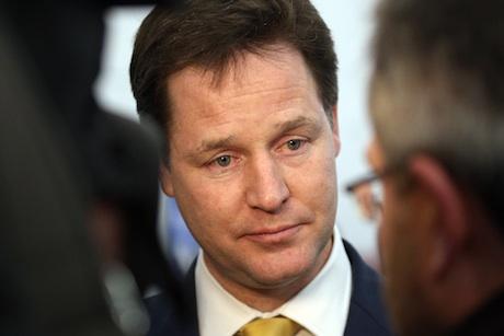 Nick Clegg: under media scrutiny