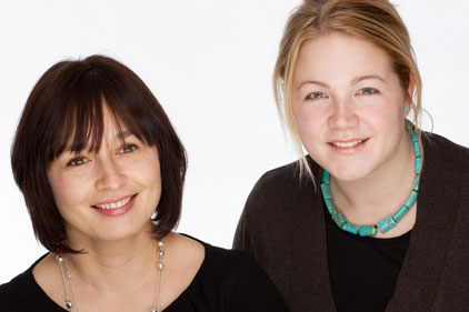 Fresh start: Sian Gaskell and Rachel Brewin
