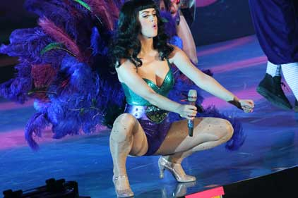 I ate a bean and I liked it: pop star Katy Perry