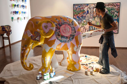 'Elephant Parade' launch: Ogilvy PR