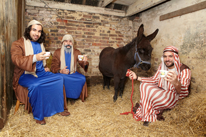 Festive fun: the stable for hire in Brighton