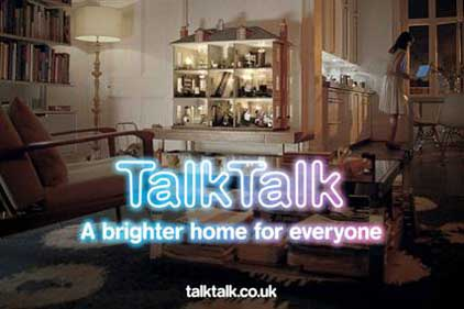 TalkTalk: wants to raise its corporate profile