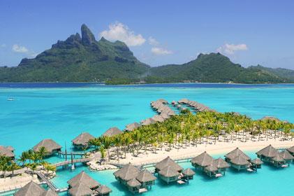 Luxury destination: Tahiti