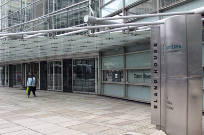 Time for change: DCLG offices
