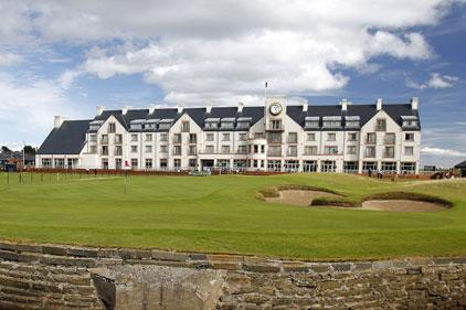 Scottish sport: Carnoustie Golf Club