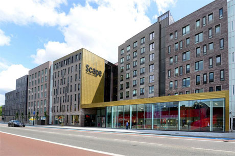 Scape: student accommodation brief for Union Street